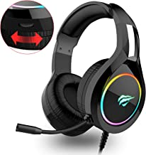 Auriculares Gaming PS4 HAVIT Iluminación RGB Cascos Gaming