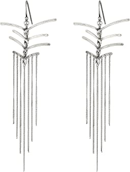 Chan Luu - Sterling Silver Earrings Drop Threads