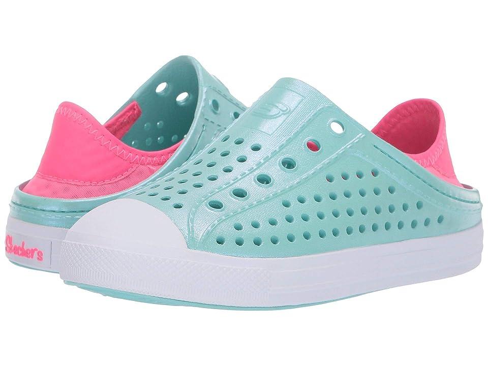 SKECHERS KIDS Guzman Steps (Little Kid/Big Kid) (Turquoise/Pink) Girl