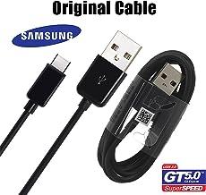 SAMSUNG Cable Original Galaxy S8y S8Edge con USB-C Modelo ep-dg950cbe Negro Black en Bulk