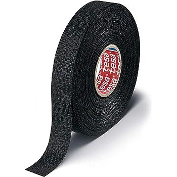 amazon.com: tesa black fuzzy fleece interior wire loom harness tape for vw,  audi, mercedes, bmw 19 mm x 15 meters (5 rolls): home improvement  amazon.com