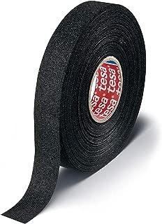 Tesa 51608 Black Fuzzy Fleece Interior Wire Loom Harness Tape for VW, Audi, Mercedes, BMW 19 mm X 15 meters