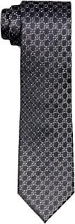 Van Heusen Men's Silk Tie, Navy Diamond Check, One Size