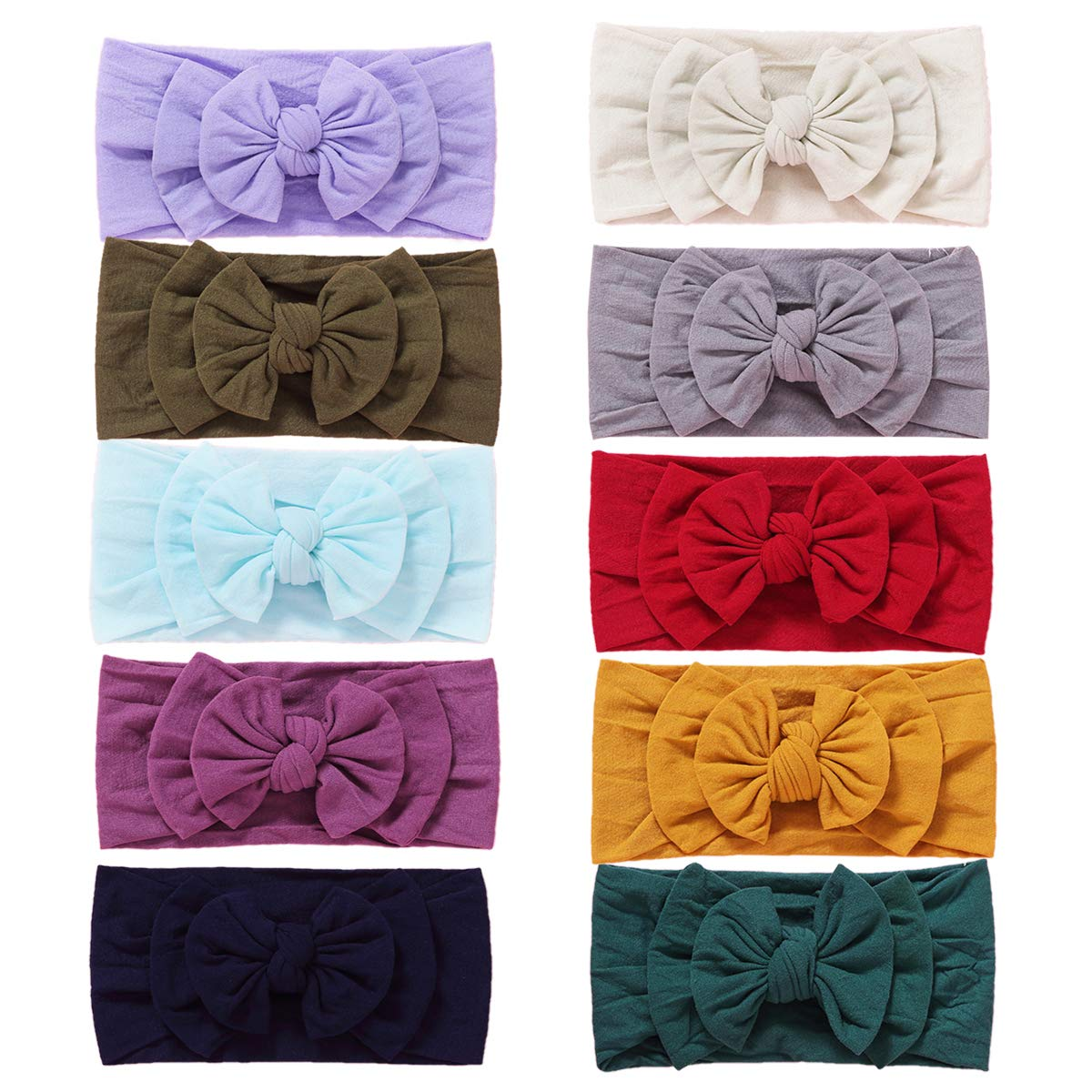 Challenge the lowest price Baby Miami Mall Girl Nylon Headbands Newborn Infant B Hairbands and Toddler