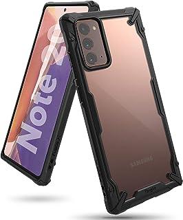 Ringke Fusion X Case Designed for Galaxy Note 20, Galaxy Note 20 5G (2020) - Black كفر نوت 20 رانجيكي مقاوم للصدمات (تجاوز...