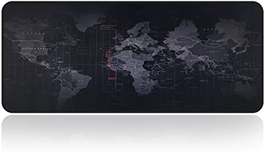 Large Gaming Mouse Map Pad With Nonslip Base|Extended XXL Size, Heavy|Thick, Comfy,..