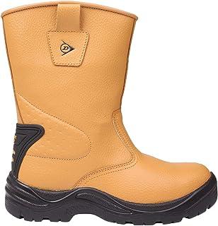 Dunlop Safety Rigger Chaussures Bottes De Sécurité Hommes Imperméable Bottine