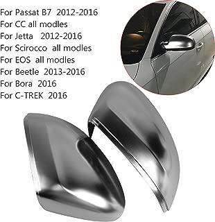 HDX Side Wing ABS Chrome Rear View Mirror Replacement Cover Cap for Volkswagen CC Golf Passat Beetle Polo Scirocco Lamando Sportsvan Touran (Passat 3C B7 2011-2019 BF620)
