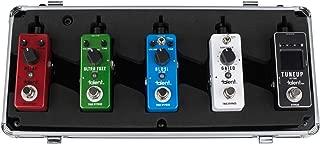 Talent GT-PDBD Guitar Mini FX Pedal Board Holds up to 5 Mini Pedals