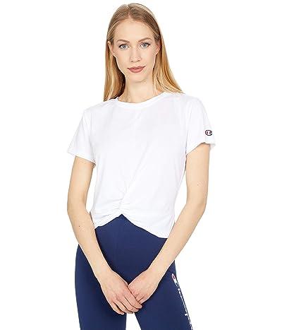Champion Sport Twist Tee (White) Women