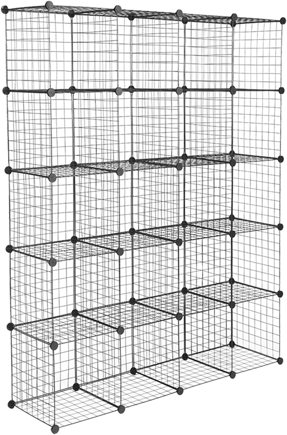 20-Cube Organizer Max 90% OFF Cube Shelves Ranking integrated 1st place Wire Storage