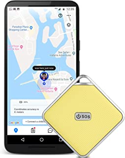 GPS Tracker for Kids with 2 Way Voice Communication- No Monthly Fees- Kids GPS Tracker with Necklace- Tracking Device for Kids 2-12 Years Old- Toddler and Child Friendly