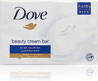Dove Beauty Cream Bar Regular, 4 x 100gram