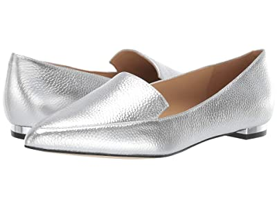 Nine West Abay Flat (Silver) Women
