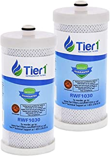 Tier1 Replacement for Frigidaire WF1CB PureSource, WFCB, RG100, WF284, NGR2000, Kenmore 469906, 469910 Refrigerator Water Filter 2 Pack