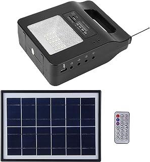 Nödström, bärbar multifunktion med FM -högtalare Utomhusström, USB -laddare för laddning lBelysning utan elektricitet Inom...