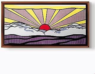 PlusCanvas - Sunrise - Roy Lichtenstein - 80 x 40cm (32