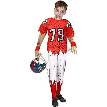 WIDMANN 03157 - Disfraz infantil de zombi con jugador de fútbol ...