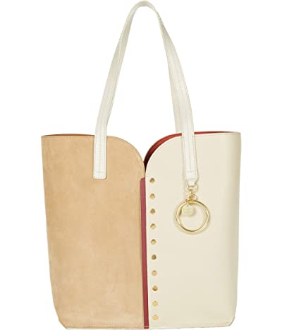 See by Chloe Gaia Carry-All Tote (Coconut Brown) Handbags