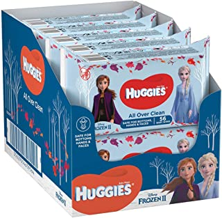 Huggies - Toallitas Húmedas Edición Especial Disney Dibjos Surtidos, 10 unidades x 56 toallitas, el empaque puede variar