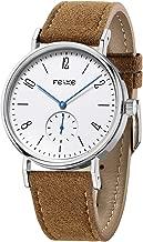 FEICE Unisex Men's Watches Bauhaus Watch Automatic Mechanical Watch Analog Wristwatch -Sapphire Glass Mirror -38mm Case (FM201)