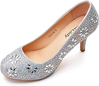 Mila Lady MAYRA06 Princess Sparkle Crystal Gem Rhinestone...