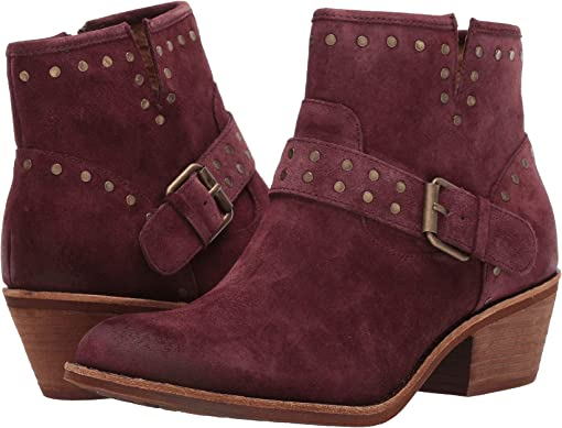 Mosto Red Oiled Cow Suede