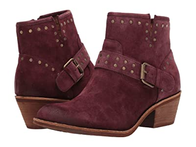 Sofft Allene (Mosto Red Oiled Cow Suede) Women