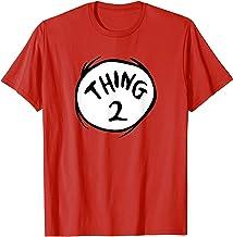Dr. Seuss Thing 2 Emblem RED T-shirt T-Shirt