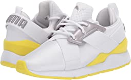 Puma White/Blazing Yellow