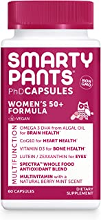Sponsored Ad - SmartyPants Multivitamin for Women 50+: Vitamin D, C, D3, E, B12 for Energy, Zinc for Immunity, COQ10, Omeg...