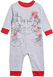 Mickey Mouse Minnie Mouse Long Sleeve Bodysuit