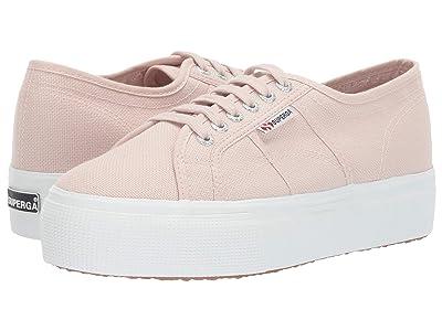 Superga 2790 Acotw Platform Sneaker (Pink Skin) Women