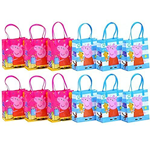 Peppa Pig Party Favor Goodie Gift Bag