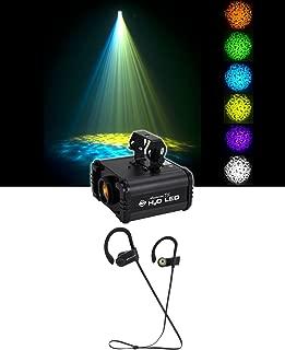 American DJ H20 LED IR Multi Color Water Flowing DJ Light Effect FX+ Earbuds