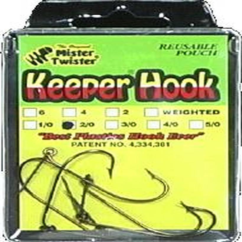 Mister Twister Keeper Hook, Bronze, 2/0