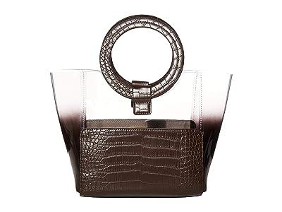 Vince Camuto Clea Small Tote (Dark Espresso) Handbags