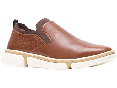Hush Puppies Bennett PT Slip-On (Cognac Leather) Men