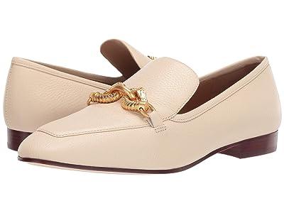 Tory Burch Jessa 20 mm Loafer (New Cream) Women