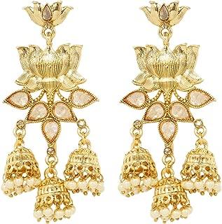 white lotus design jewelry