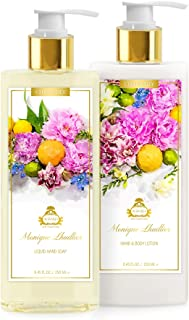 AGRARIA Monique Lhuillier Citrus Lily Luxury Lotion and Liquid Hand Soap Duo