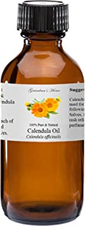 Calendula (Marigold) Essential Oil - 2 fl oz -100% Pure and Natural - Therapeutic Grade - Grandma's Home