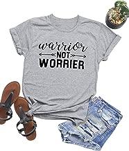 be a warrior not a worrier print