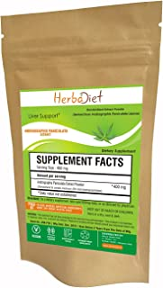 Andrographis Paniculata Extract Powder | 10% Andrographolides - Natural Liver Tonic, Immune Health & Respiratory Support C...