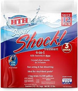 HTH 52026 Super Shock Treatment Swimming Pool Chlorine...