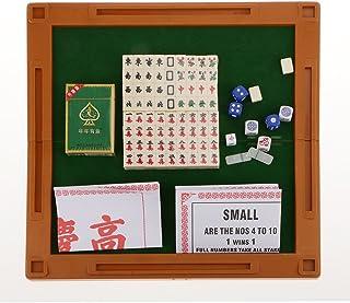 Mahjong Spielset 16mm Traditionelle Chinesische Spiel