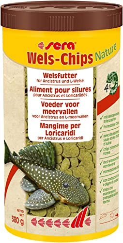 SERA Nourriture pour Aquariophilie Wels Chips 1 L