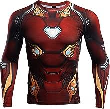 iron man infinity war compression shirt