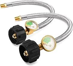 Best 1/4 npt propane hose Reviews