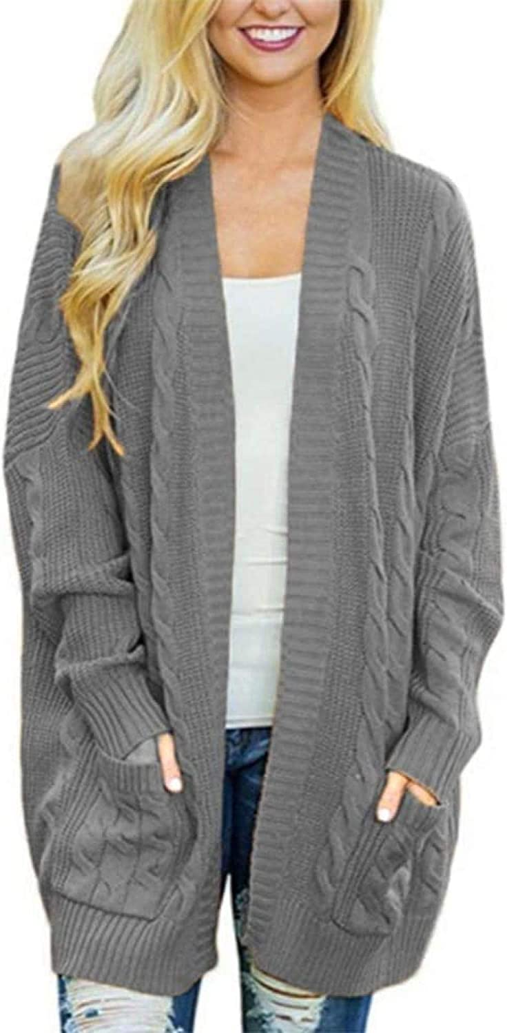 Cheap SALE Start Lztly Sweater Cardigan Sale SALE% OFF Ladies Casual Open Color Mi Solid